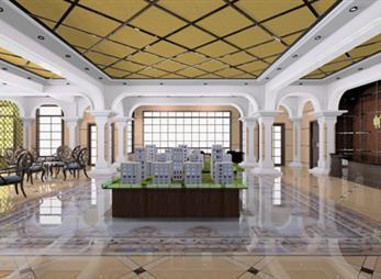 帕提公馆售楼部包装设计