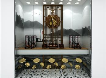 周大福珠宝展柜制作效果图