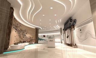 展厅设计公司浅谈大型餐厅设计