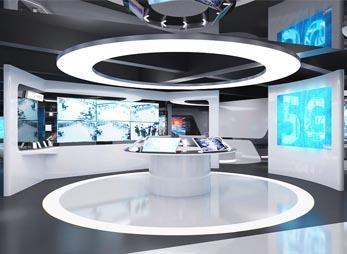 智能科技展厅装修效果图