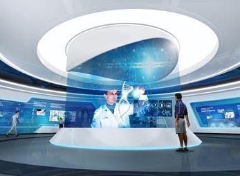 科技企业展厅设计方案