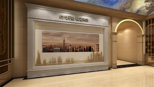 展厅设计公司的酒店设计效果图