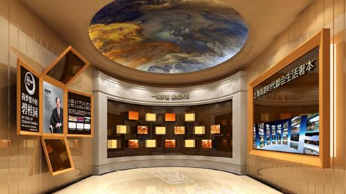 上海展厅设计制作公司案例展示