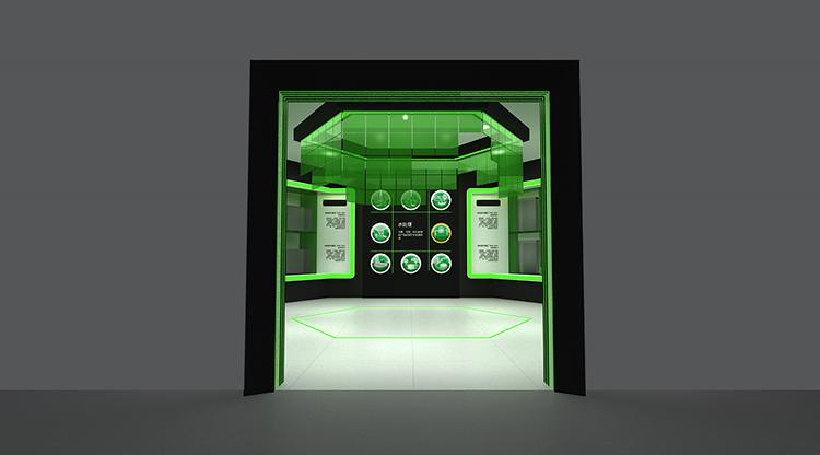 VAG展厅设计案例远景图