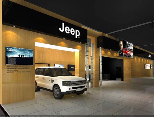 汽车展厅设计效果图