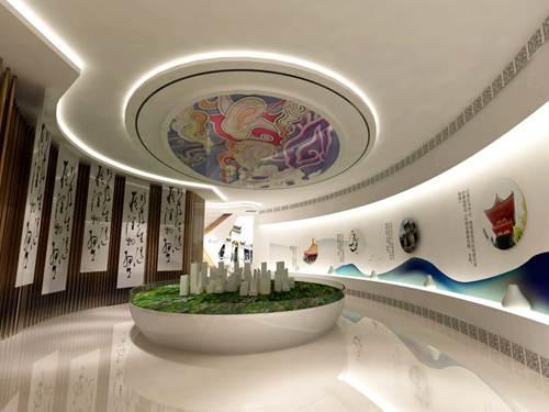 上海展厅展览设计公司的展厅设计装修案例展示