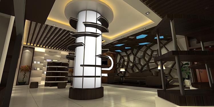 上海青杉企业展厅设计1