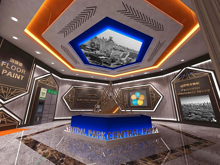 碧桂园中央公园体验馆设计效果图5