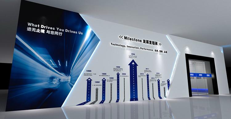 上海金豹实业展厅设计效果图3
