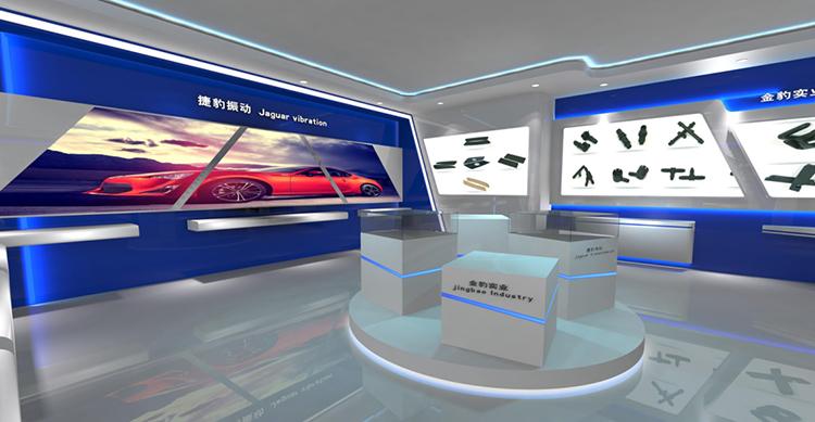 上海金豹实业展厅设计效果图2