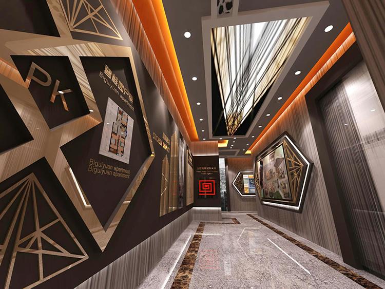碧桂园中央公园体验馆设计效果图3