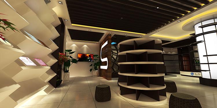上海青杉企业展厅设计案例