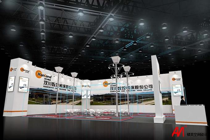 汉川数控展台设计-第八届中国数控机床展览会6