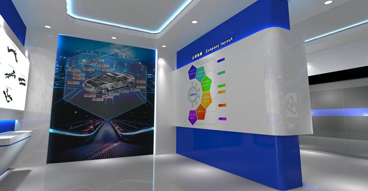 上海金豹实业展厅设计效果图