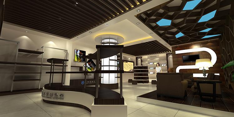 上海青杉企业展厅设计案例5