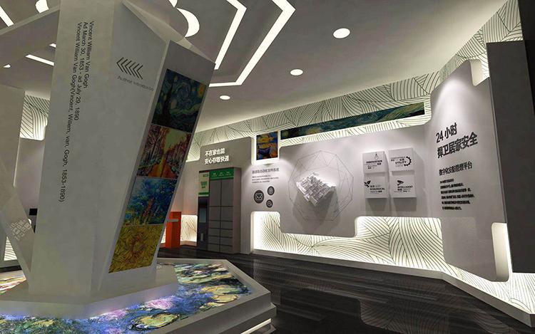 紫金庄园展厅设计案例展示1