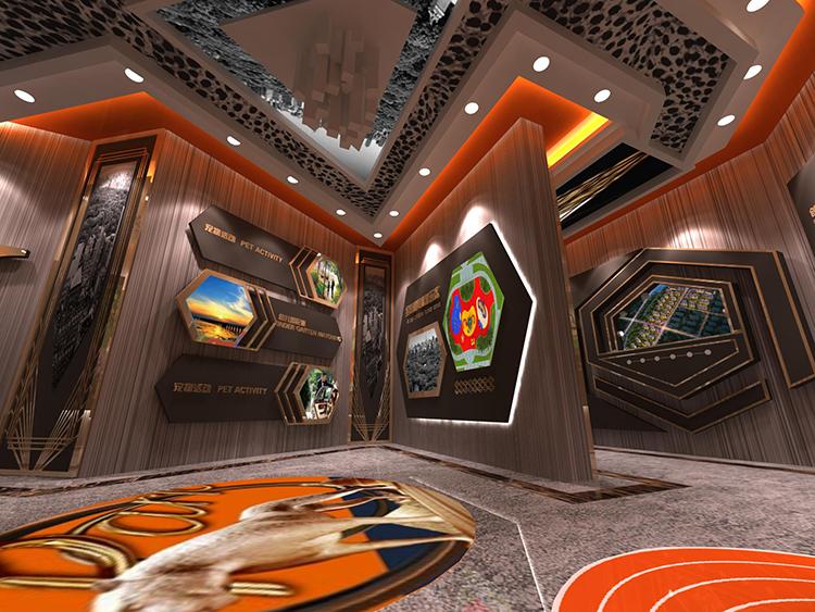 碧桂园中央公园体验馆设计效果图2