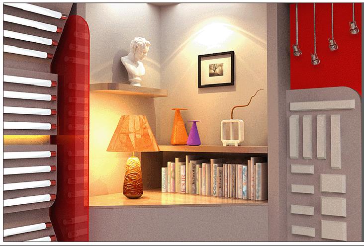 TCL照明电器品牌店设计案例3