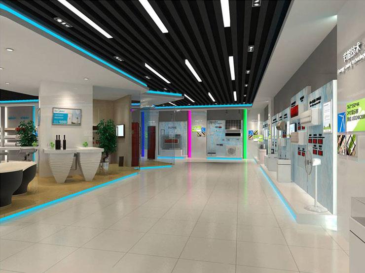 美的空调产品体验中心商业展示空间设计案例4