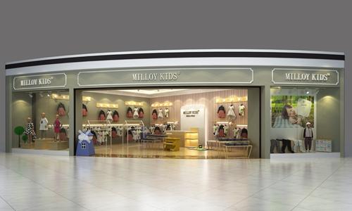 MILLOY KTDS品牌形象店设计案例1
