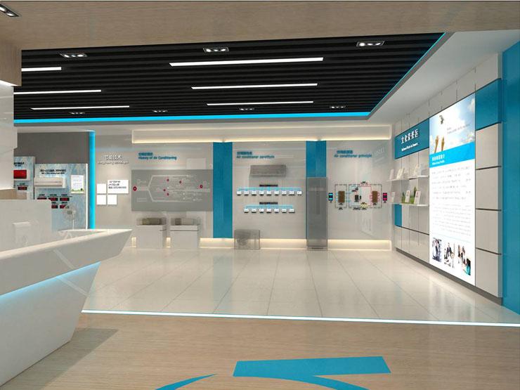美的空调产品体验中心商业展示空间设计案例3