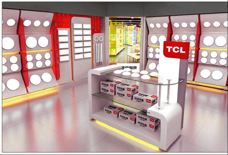 TCL照明电器品牌店设计案例4