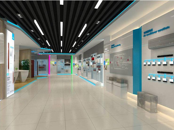 美的空调产品体验中心商业展示空间设计案例5