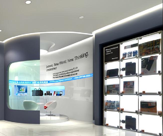 联想品牌店空间设计效果图4