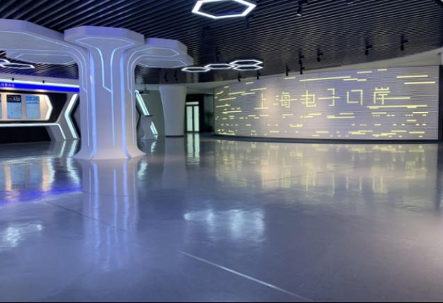 亿通国际展厅设计效果图2
