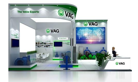 VAG阀安格展台设计效果图3