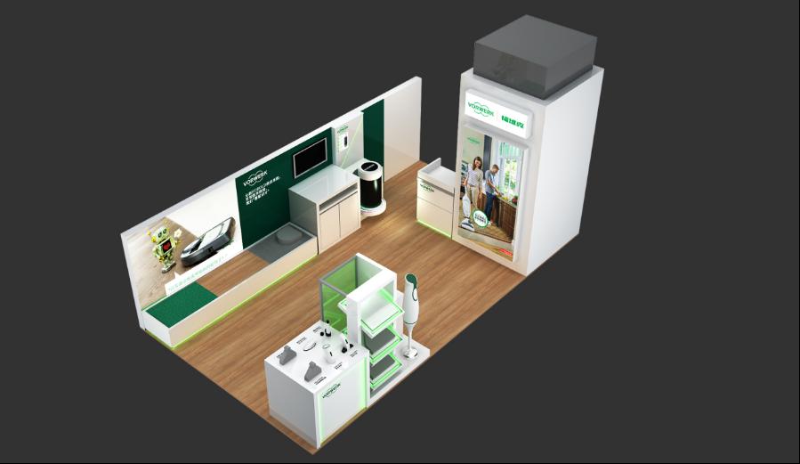 VORWERK商场专卖店空间设计方案效果图6