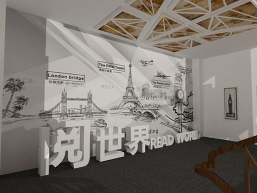 碧桂园燕山公馆看房通道设计方案的效果图6