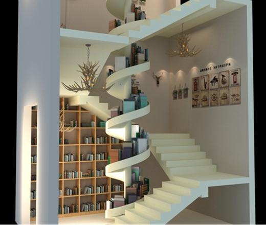 碧桂园燕山公馆看房通道设计方案的效果图3
