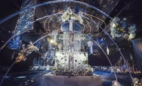 3D全息投影宴会厅设计案例效果图3