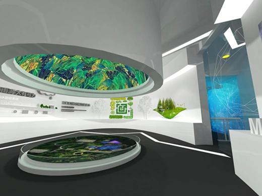 碧桂园燕山公馆体验馆设计案例效果图3