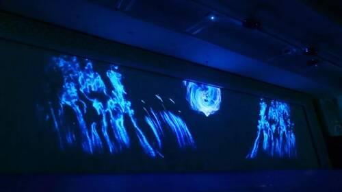 3D全息投影宴会厅设计案例效果图