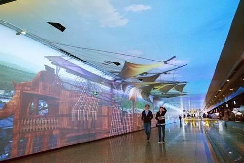 时空隧道体验空间设计实际案例效果图3
