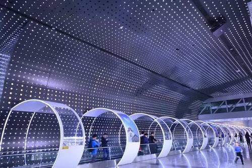 时空隧道体验空间设计实际案例效果图4