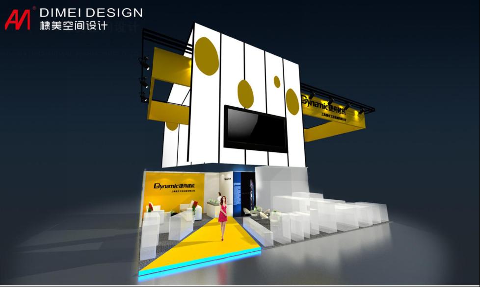 捷舟展台设计案例展示2