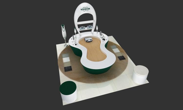 VORWERK商场专卖店空间设计方案效果图5