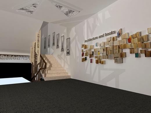 碧桂园燕山公馆看房通道设计方案的效果图5