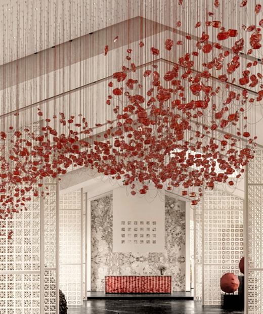 售楼部设计方案的效果图7