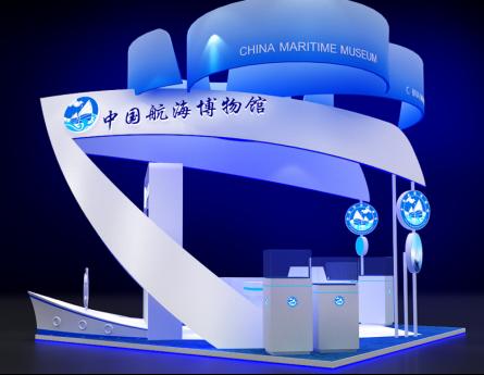 中国航海博物馆展台设计案例展示3