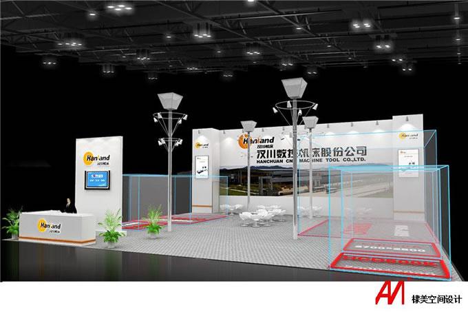 工业博览会之汉川机床展案例2