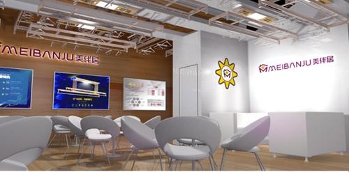建材展展台设计案例4