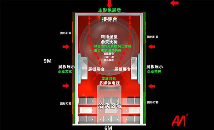 庆华工业博览会展设计案例2
