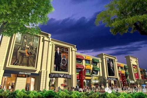 绿地智慧金融城商业街包装2
