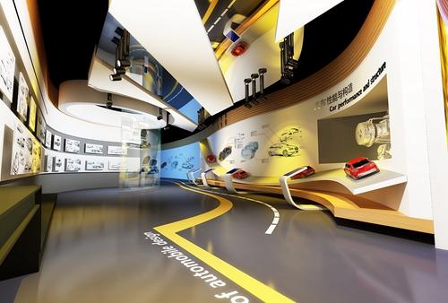学校展厅设计方案效果图33