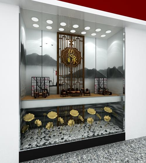 周大福珠宝展柜制作效果图2