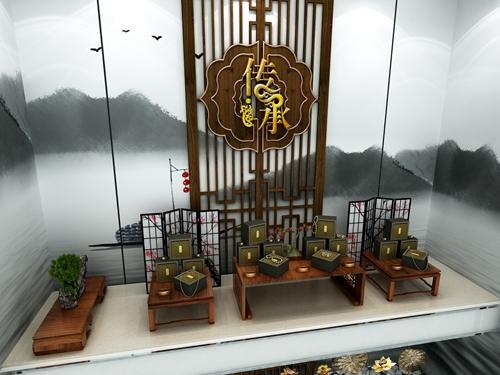 周大福珠宝展柜设计制作案例展示